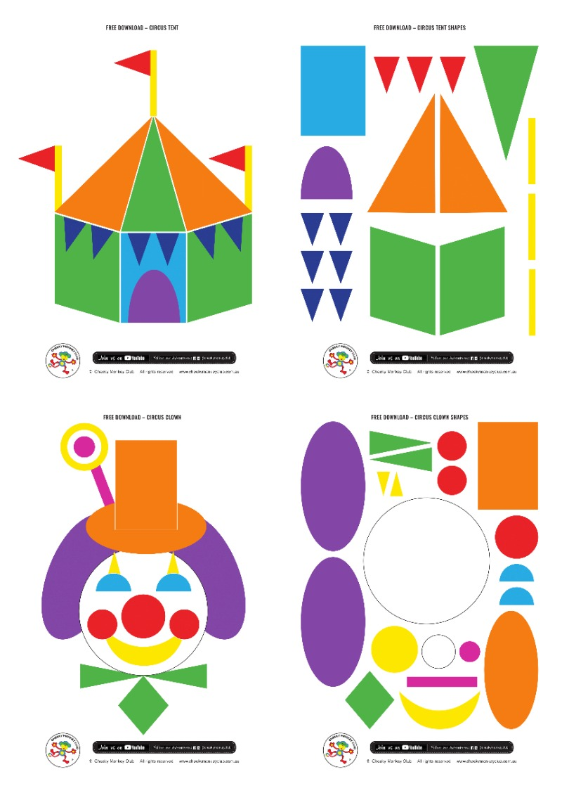 circus shape pictures